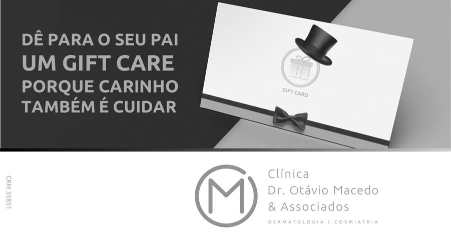 Gift Care para os pais - Clínica Dr. Otávio Macedo & Associados