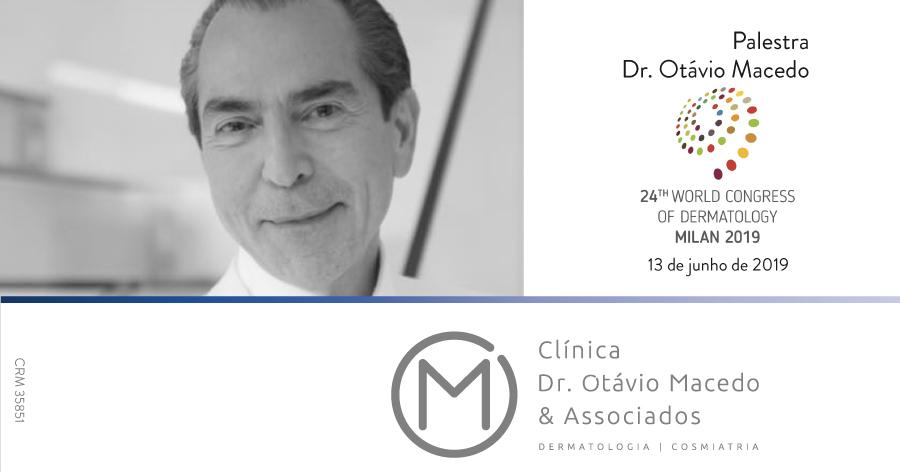 Convite Congresso Mundial de Dermatologia - Clínica Dr. Otávio Macedo & Associados